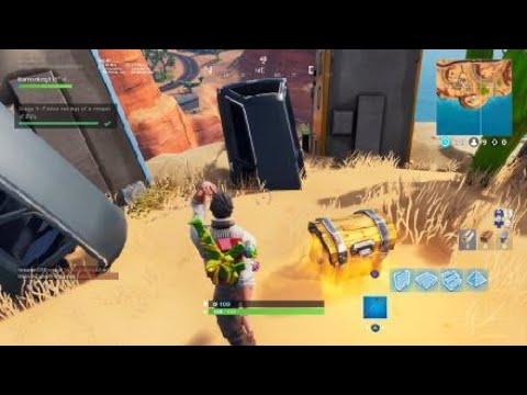 Stage 1 Dance On Top Of A Crown Of Rv S Fortnite Battle Royale