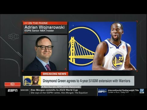 Draymond Green gets $100m extension from Warriors