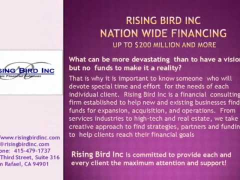 Rising Bird Inc Business Capital, Commercial Finance, and Investors