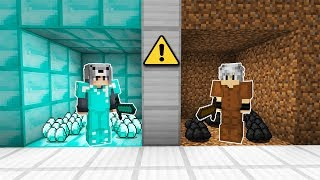 ZENGİN ODASI VS FAKİR ODASI! (ZENGİN FAKİR TEST) 😱 - Minecraft