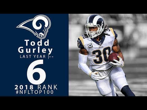 #6: Todd Gurley (RB, Rams) | Top 100 Players of 2018 | NFL Mp3