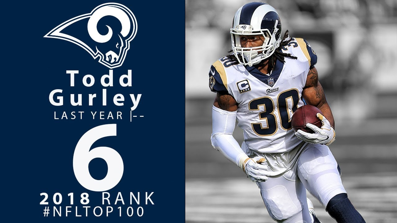 finest selection def26 4249d #6: Todd Gurley (RB, Rams)   Top 100 Players of 2018   NFL