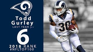 #6: Todd Gurley (RB, Rams) | Top 100 Players of 2018 | NFL