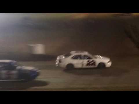 1st Feature race For Cayden Vance sport Compact Humboldt speedway 2017