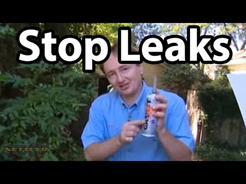 How To Seal and Stop Leaks In Your Car