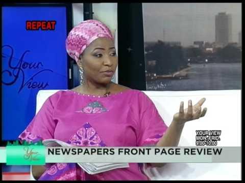 Your View | Celebrity Guest of the Week: Kanayo O. Kanayo