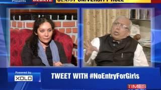 The Newshour  Debate: Sexist University Rule - Part 1 (11th Nov 2014)