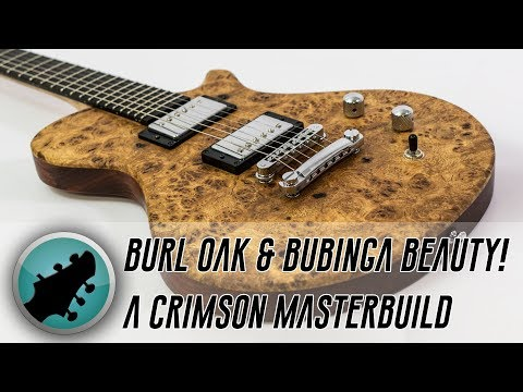 Burl Oak & Bubinga Beauty - A Masterbuilt Demo with Phil Walker