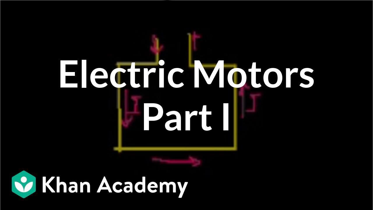 electric motors (part 1) (video) khan academy 3 Wire Lighting Diagram