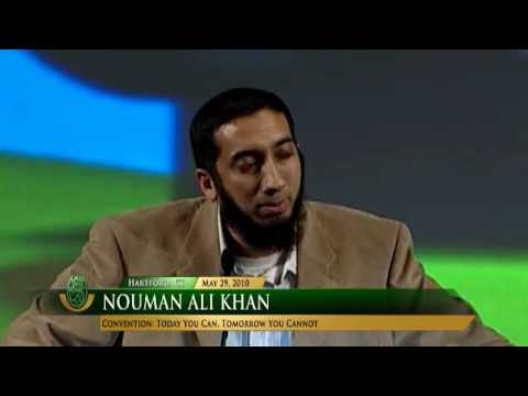 Today you can, tomorrow you cannot - Nouman Ali Khan