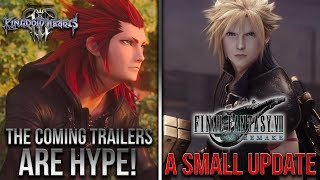 The Coming KH3 Trailers Are Going to Be Hype, Oswald in KH3, Final Fantasy 7 Remake Update