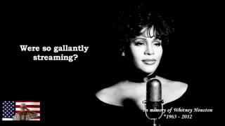 U.S. National Anthem by Whitney Houston (Video Lyric)