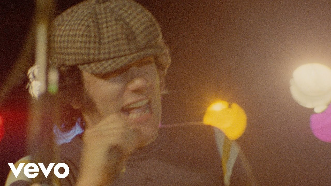ac/dc - back in black (official video) - youtube