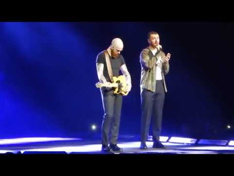 Sam Smith -  The Thrill Of It All Tour - Scars @Sportpaleis On My 4 2018