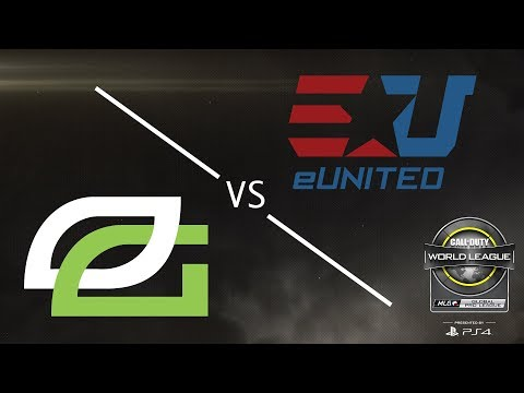 OpTic Gaming vs eUnited - CWL Global Pro League Stage 2 Playoffs - Day 3 - Championship Sunday