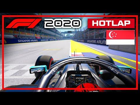 F1 2020 Singapore Hotlap + Setup (1:32.210)
