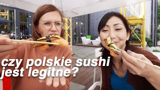 Test POLSKIEGO SUSHI - jak różni się od Japońskiego?