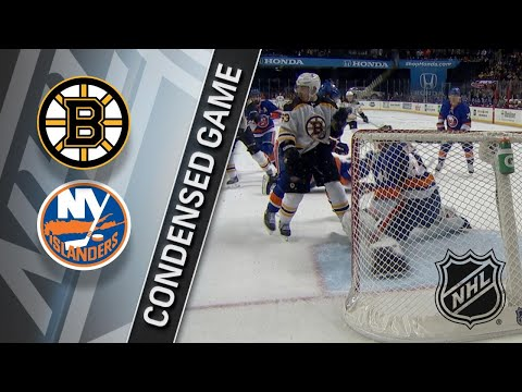 01/18/18 Condensed Game: Bruins @ Islanders