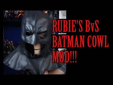 Rubie's Dawn of Justice Adult Batman Cowl Mod (DOJ Batman Cosplay Part 10)
