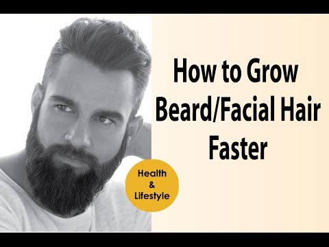 growing facial hair quickly