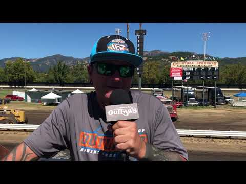 We preview the Wine Country Outlaw Showdown at Calistoga Speedway! - dirt track racing video image