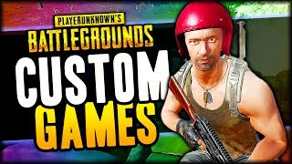 JOIN US! PUBG Custom Matches (Playerunknown
