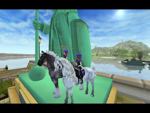 Star Stable Online | Bugy a faily ve Fort Pintě  w/Elizabeth