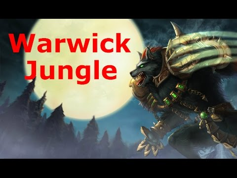[Preseason] Warwick Jungle, Full Game Commentary!