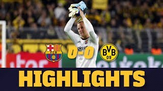 HIGHLIGHTS | Borussia Dortmund 0-0 Barça