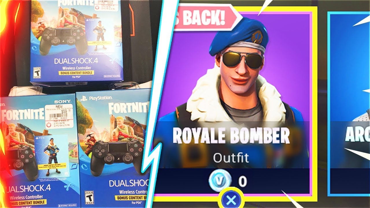 How I Got The New Royale Bomber Bundle Free At Gamestop
