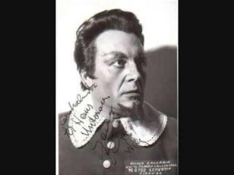 """Nicola Zaccaria-""""Studia il passo, o mio figlio... """", Macbeth, 1966"""