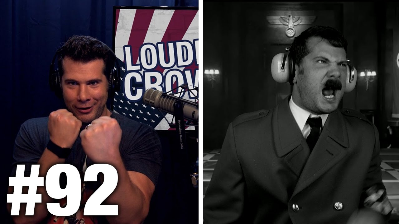Download #92 #BlackLivesMatter vs. AMERICA: Tommy Sotomayor and Literally Hitler | Louder With Crowder