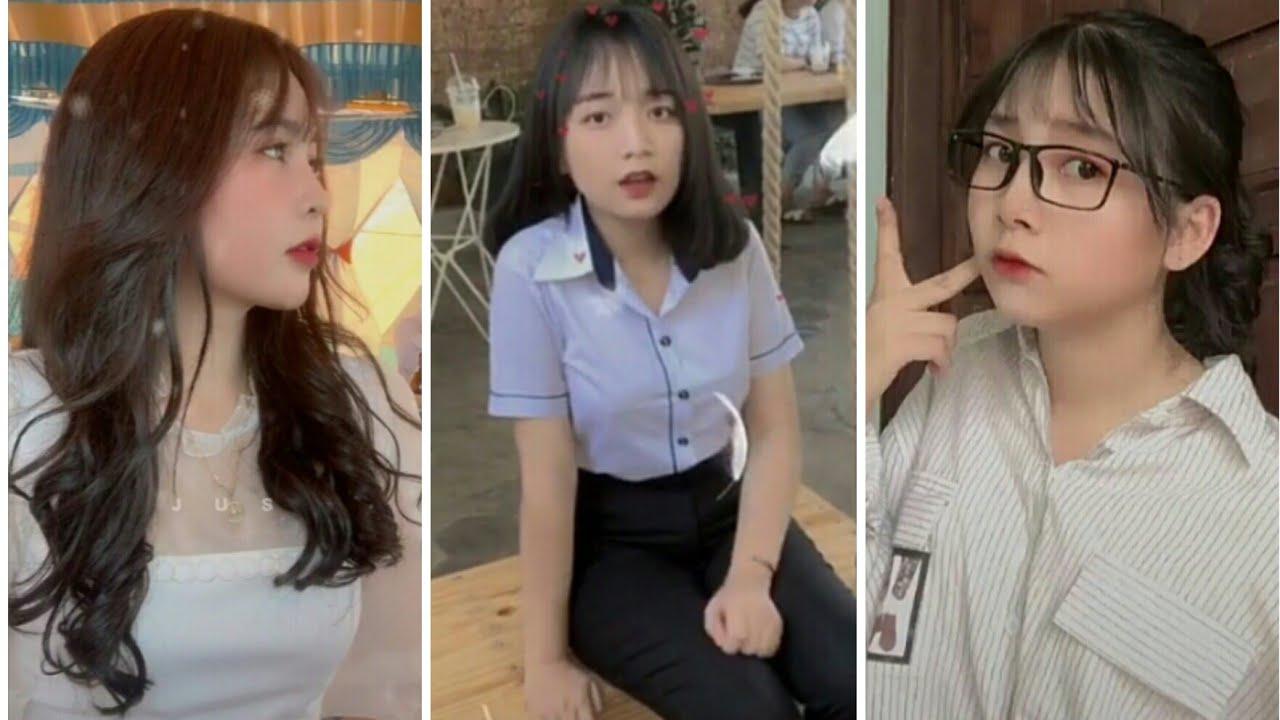 Tik Tok Việt Nam - Top Những Cô Gái Xinh Nhất TikTok Cực Dễ Thương - Beautiful girl