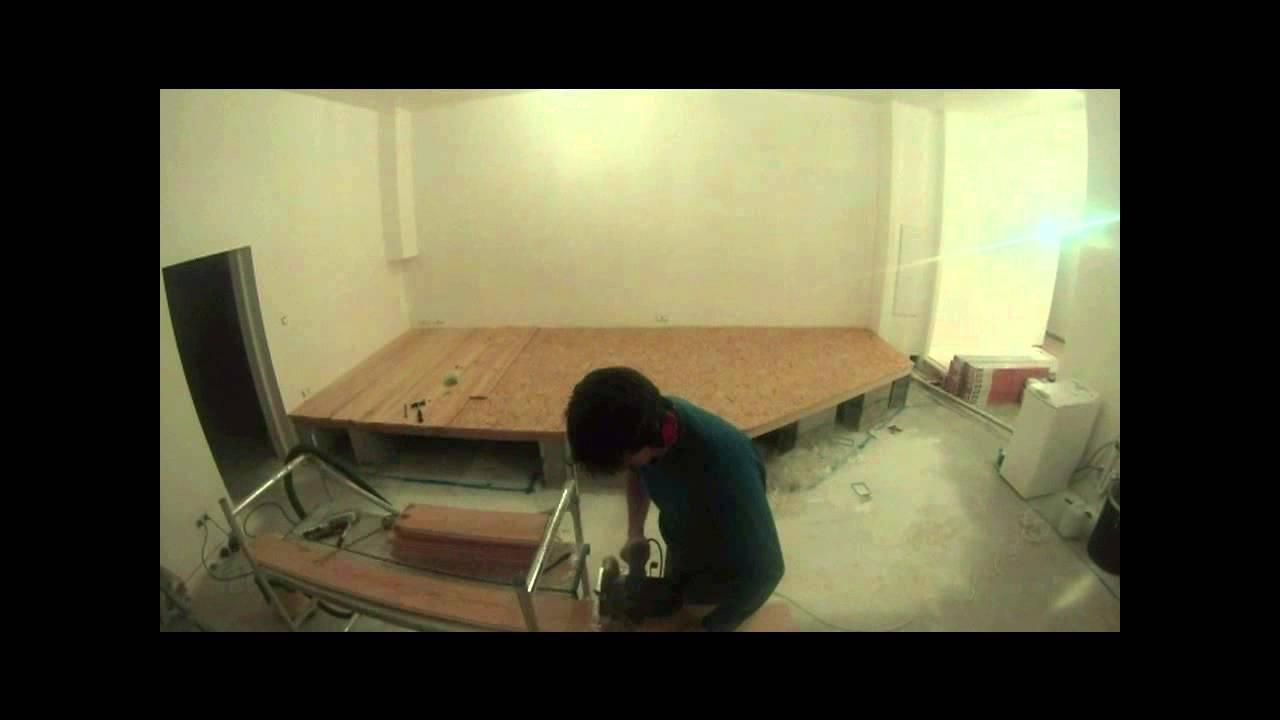 construction estrade en bois
