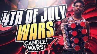 ROMAN CANDLE WARS (SAVAGE) ON MY MAMA!!!