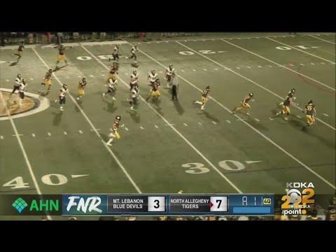 High School Football: Mt. Lebanon Vs. North Allegheny