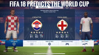 Croatia vs England world cup 2018 prediction semi final