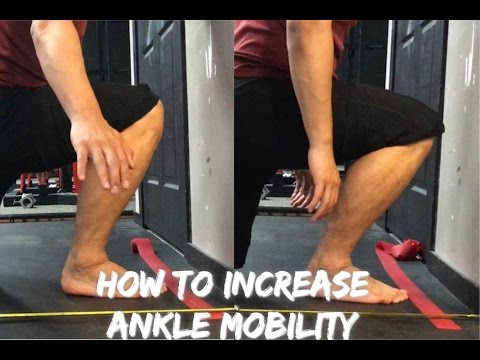 How To Increase Ankle Mobility Increase Dorsiflexion Youtube