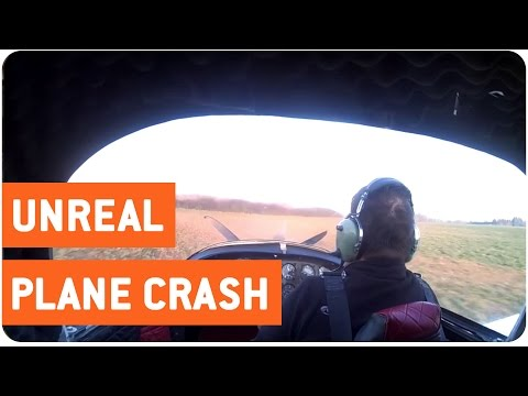Pilot Survives Unreal Plane Smash | Emergency Landing