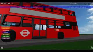 Roblox The Central London Project V1 (WIP) Gemini 3 Volvo Hybrid SLN Route 8 Short Return