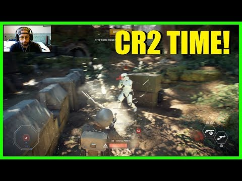 Star Wars Battlefront 2 - The CR2 is a Mini mini gun XD
