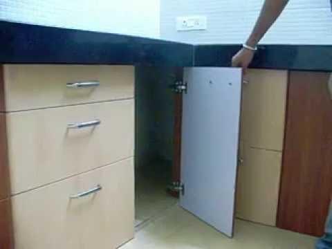 Om Kitchen Trolleys Cylinder Door
