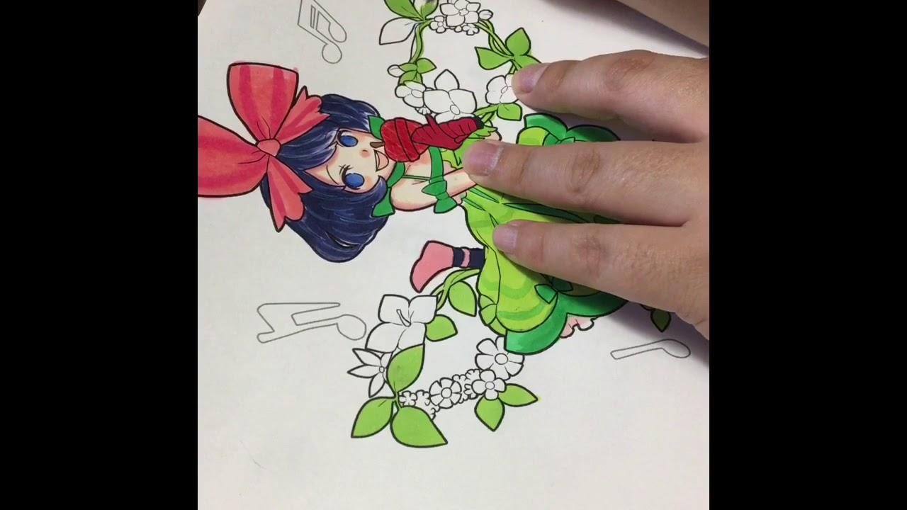 モンスト白雪姫リボンを塗ってみた Youtube