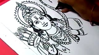 How to Draw LORD SRIRAMA DRAWING for KIDS