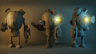 New 3ds Max Tutorial: High Poly Robot Modeling For Games in 3ds Max