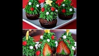 Новогодние десерты. Идеи десертов на Новый год. Новогоднее меню.