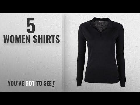 22b50b8b4c6be Top 10 Women Shirts [2018]: Mountain Warehouse Talus Womens Zip Neck  Thermal Baselayer Top - Long - YouTube