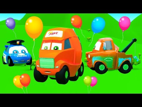 Festival of Color Air Balloons – Funny Stories for Kids from The City of Little Cars