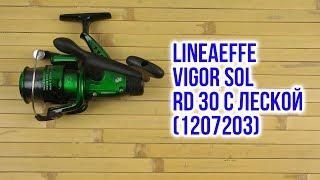 Розпакування Lineaeffe Vigor Sol RD 30 з волосінню 1207203