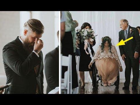 Novio esperaba emocionado en el altar Pero lo que hizo la novia lo hace estallar en l�grimas